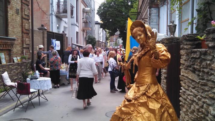 Мешканці Рівного відсвяткували День вулиці Поштової