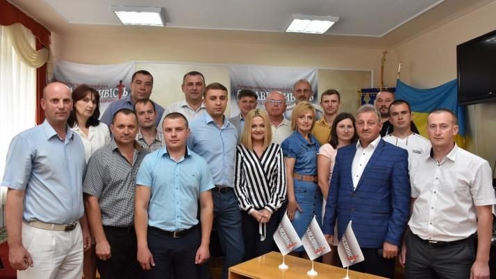 На Тернопіллі обрали керівника обласної організації Руху Наливайченка «Справедливість» (відео)
