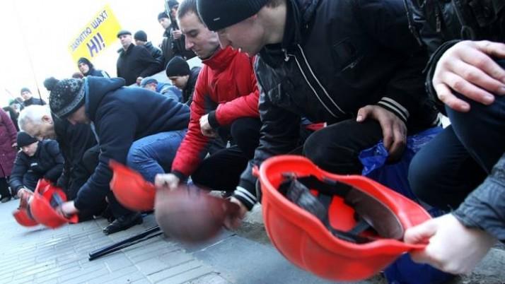 «Гірники Доннечини підуть на Київ», — шахтарі