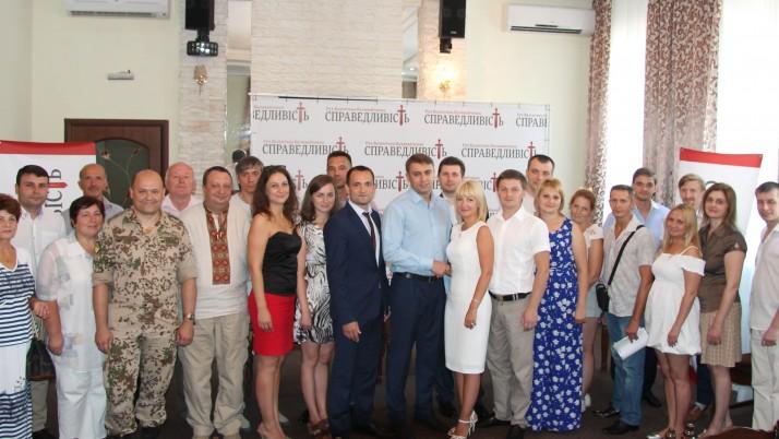 Оксана Голубова  очолила обласну організацію Руху Наливайченка «Справедливість» на Чернігівщині