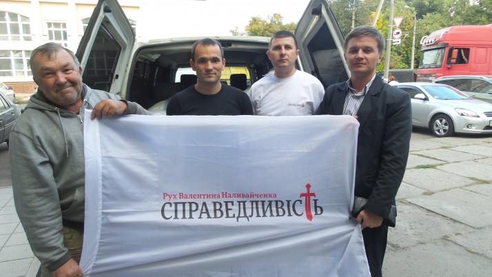 Допомога солдатам від чернігівців знову їде під Донецьк