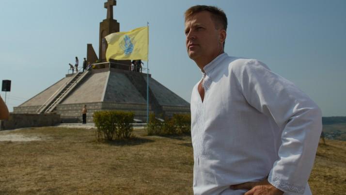Наливайченко взяв участь у заходах з нагоди сторіччя боїв на горі Лисоня, що на Тернопільщині