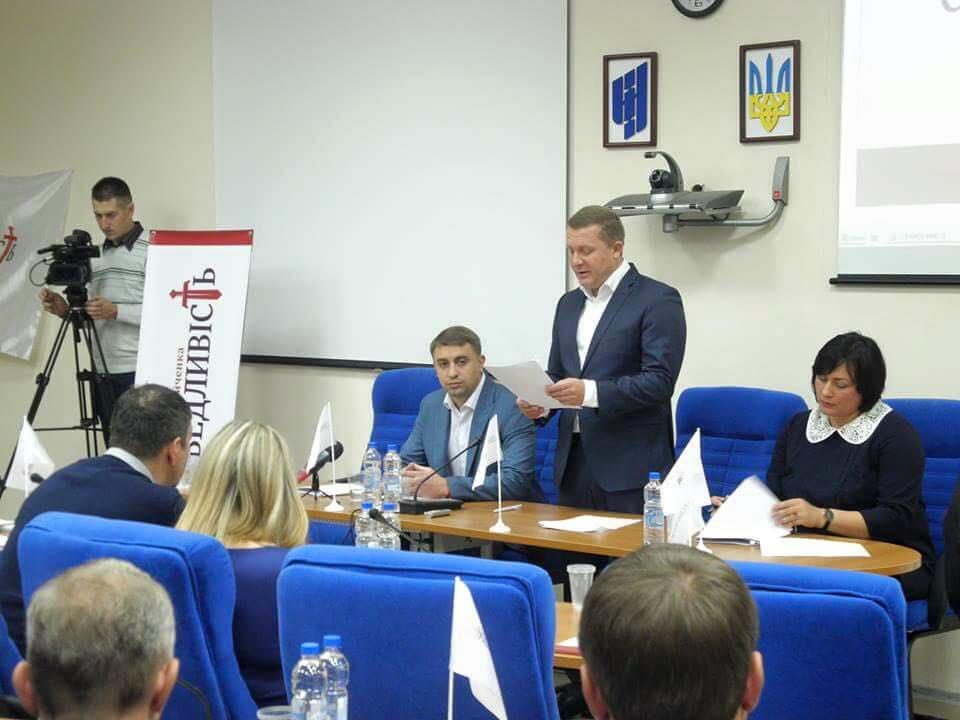 Рух «Справедливість» на Черкащині очолив Олег Котля