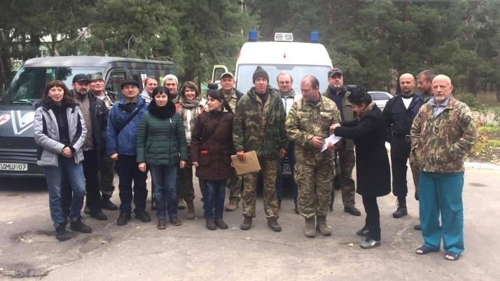 На сході України розпочалась 20-та ювілейна ротація ПДМШ