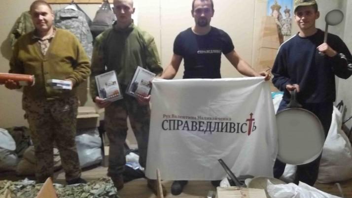 Обстріл у Мар'їнці  та допомога захисникам у Красногорівці від чернігівців