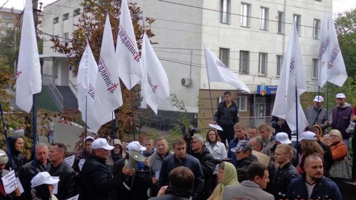 «Справедливість» крокує Київщиною