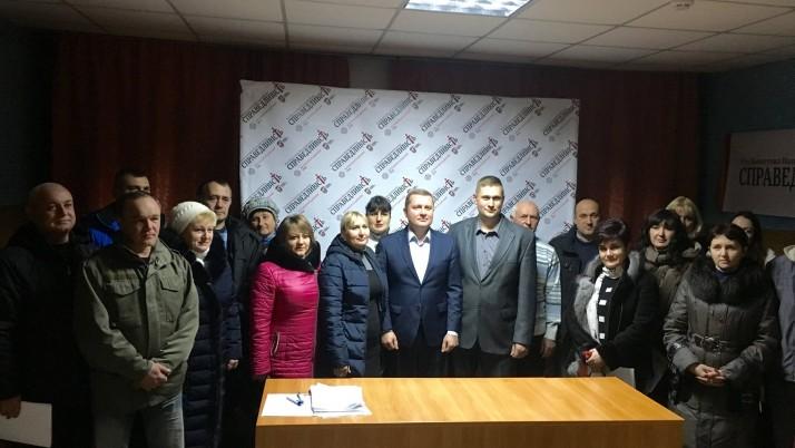 На Черкащині Рух В. Наливайченка «Справедливість» здобув першу перемогу на виборах