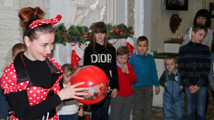 Миколай зібрав дітей учасників АТО в «Розмарині»