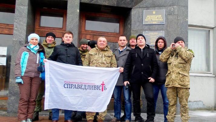 Суд  визнав волонтера-добровольця захисником  України
