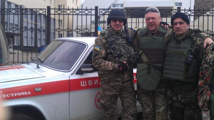«Отруйний» Олександр Гагаєв: Поки в нашій армії все не стане до ладу, поки не з'являться такі служби медеваку, як ті, що організували волонтери, доти хтось має виконувати цю роботу