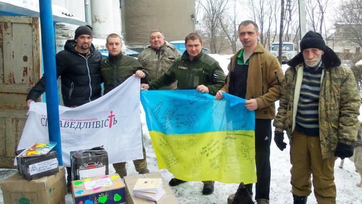 Волонтери Чернігівщини привезли допомогу у прифронтові шпиталі та на передову