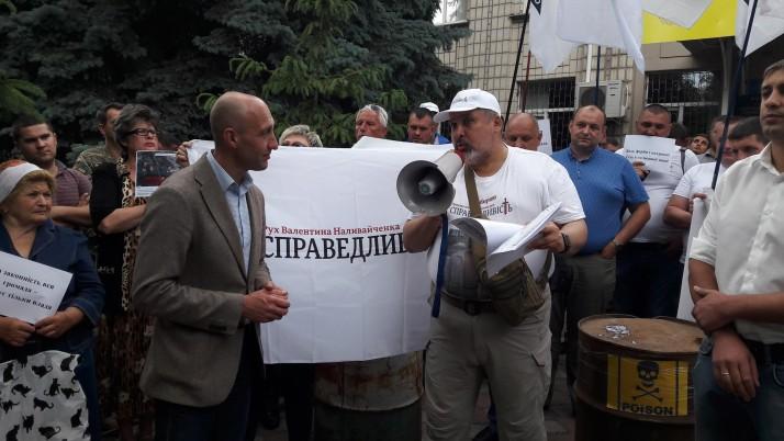 Мешканці Бородянки протестували проти відкриття екологічно небезпечних промислових об'єктів (відео, фото)