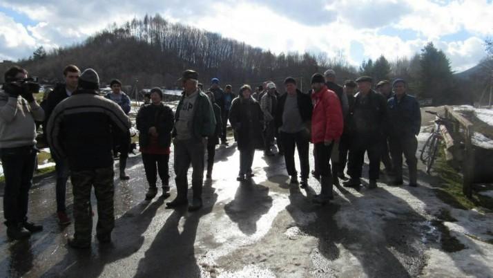 На Свалявщині активісти та місцеві мешканці зупинили незаконну вирубку лісу