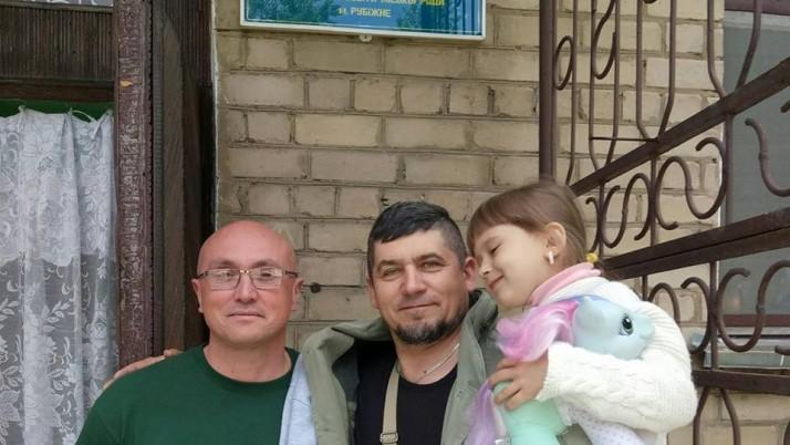 Четвертий «дитячий меддесант» ПДМШ висадився в Рубіжному (відео)