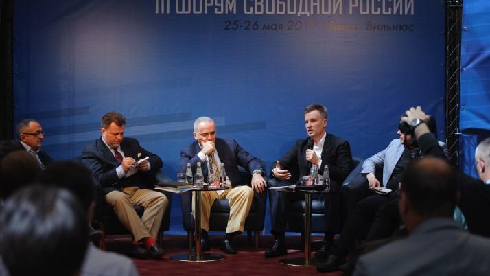 Наливайченко: діалог нової України з новою Росією можливий лише після того, як Росія поверне Крим, окуповані території сходу України та звільнить усіх заручників і політв'язнів