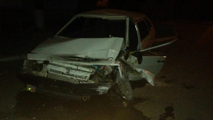 Екс-поліцейський протаранив стовп в центрі Тернівки