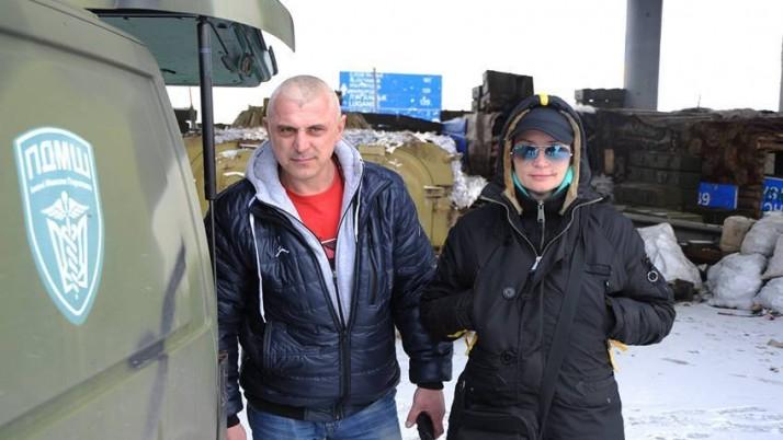 Боєць невидимого фронту Таміла Данілевська: «У моїй роботі нічого цікавого. Хіба що в Попасній я заблукала і ледь не потрапила до сепарів»