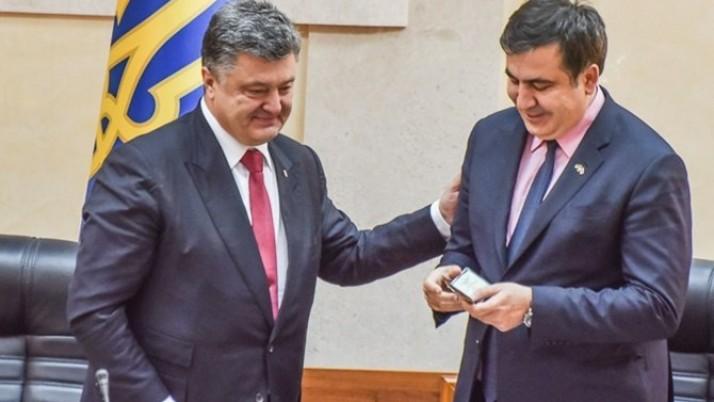 Рух Валентина Наливайченка «Справедливість» рішуче засуджує позбавлення українського громадянства Михайла Саакашвілі