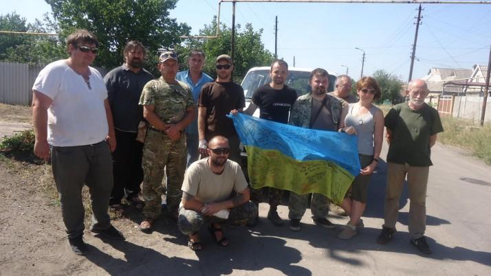 Волонтерський Центр «Справедливість» успішно доставив черговий волонтерський вантаж на передову