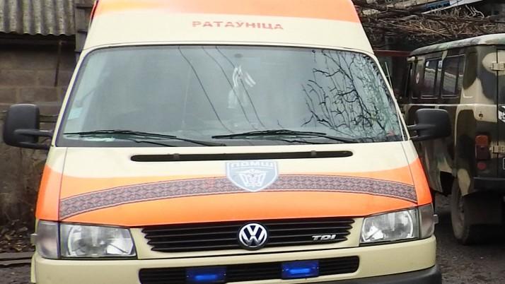 Бригада ПДМШ евакуювала пораненого з нерозірваною гранатою в нозі