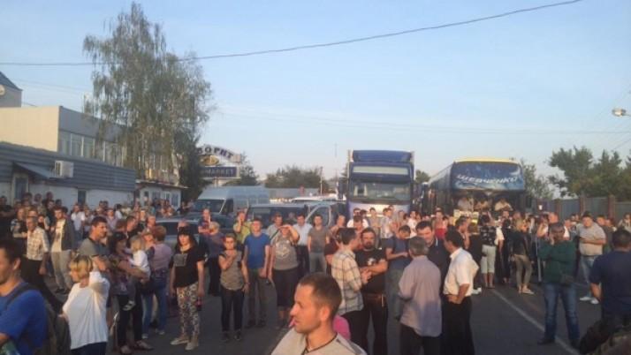 Враженнями від прориву кордону Саакашвілі поділився рівненський чиновник (ФОТО)