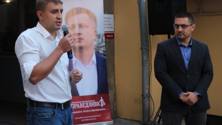 У Чернівцях відбулася спільна акція Рухів Наливайченка «Справедливість» і Нових Сил Саакашвілі