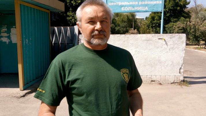 ПДМШ «зшиває» Україну: лікар-«західняк» повернувся зі сходу з грамотою, подяками і заявкою на патент