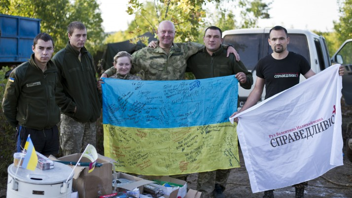 Волонтерський Центр «Справедливість» вчергове зібрав та доправив допомогу воїнам у зону АТО