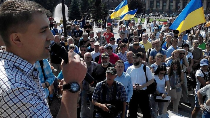 """""""Йдемо на вибори до ОТГ, аби не дати нинішній владі  знищити село"""", — Руслан Колєсніков"""