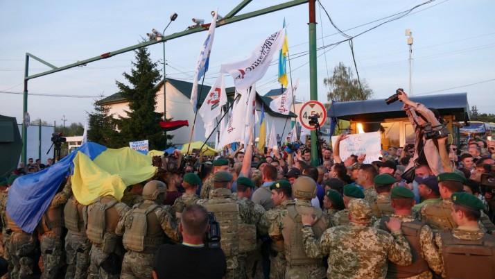 Повернення Міші запалює політичне вогнище в Україні