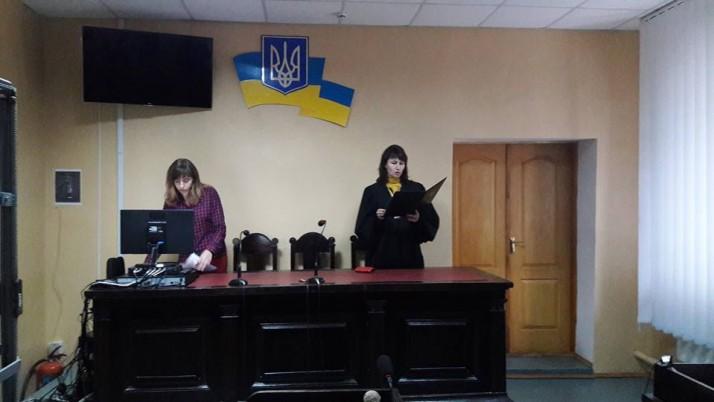 Рух «Справедливість» підтримав відомого на Чернігівщині волонтера і бійця-добровольця у суді