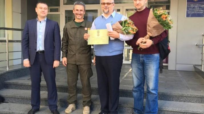 Президент ПДМШ продовжив презентаційний тур добровольчого шпиталю у Черкасах і Кам'янці-Подільському