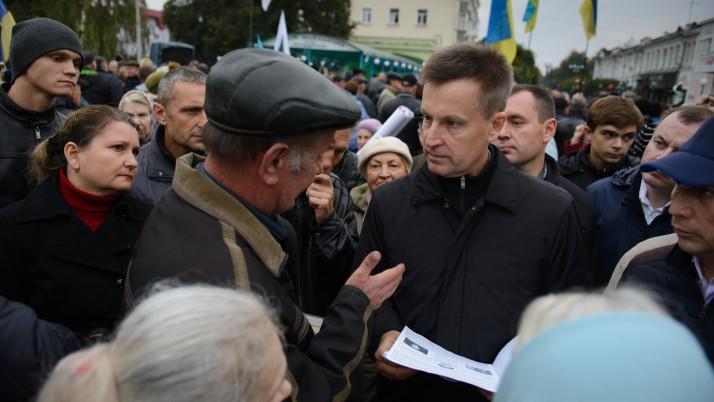 В. Наливайченко: в країні мають бути всі рівні перед законом