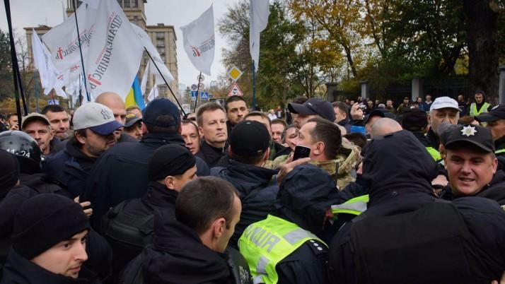 «Ми — люди, які встали з колін», — Наливайченко виступ під ВР