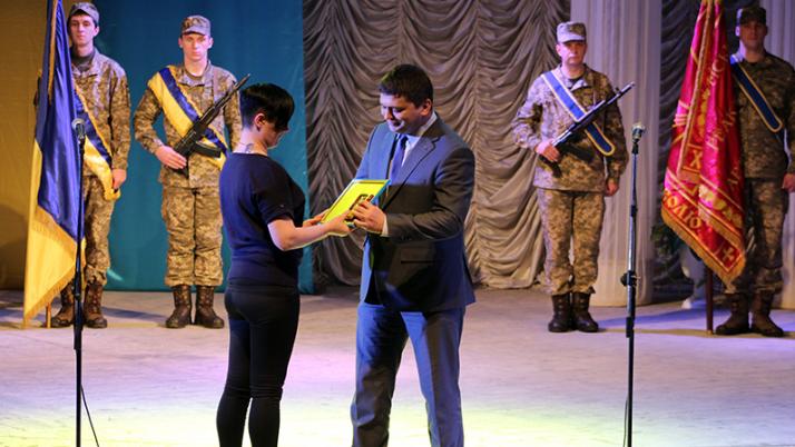 Марина Білінська: «Я, насамперед, – захисник своєї країни»