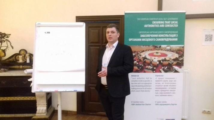 Депутат Судововишнянської міськради від Руху «Справедливість» відзвітував за рік своєї роботи