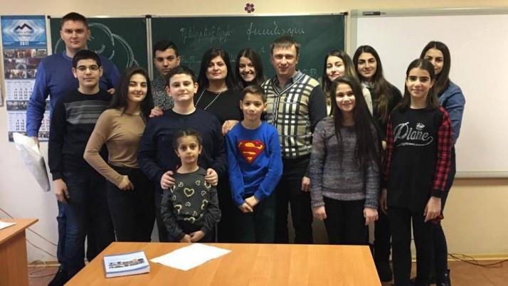 Запорізька вірменська недільна школа «Нарек» відсвяткувала День народження