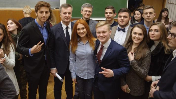 Я бачу майбутнє української молоді в Україні, — Наливайченко