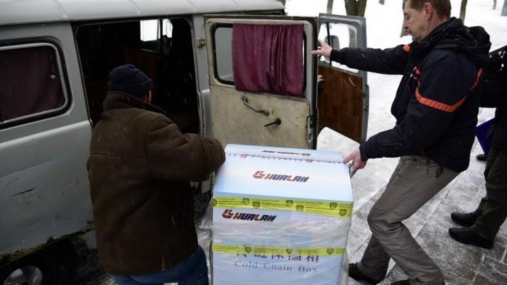 ПДМШ доставив на схід України вакцину від грипу