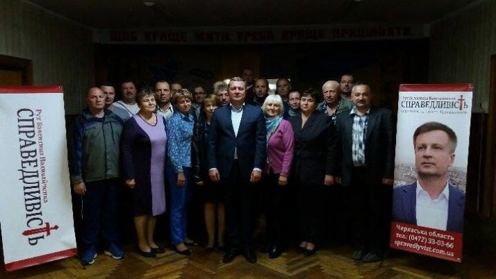 Депутати Руху «Справедливість»: перші кроки в роботі Кам'янської ОТГ, що на Черкащині