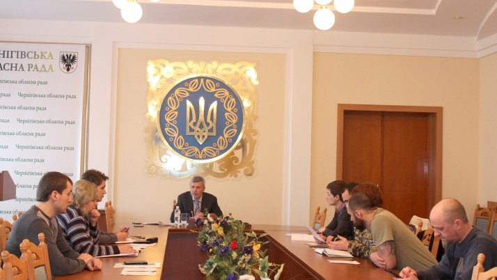 Добровольці Чернігівщини просять видати їм посвідчення «УБД – доброволець»