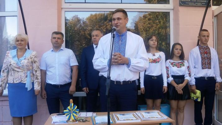 Депутат Тальнівської ОТГ, що на Черкащині, від Руху «Справедливість» відзвітував за рік своєї роботи