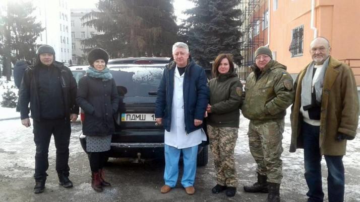 Подарований поляками Dodge виконуватиме завдання в зоні АТО