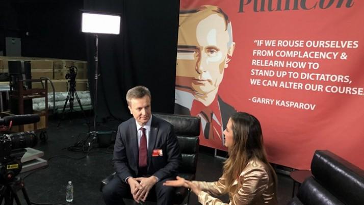 У Нью-Йорку представив докази злочинів проти людяності, вчинених агресором проти України – Наливайченко