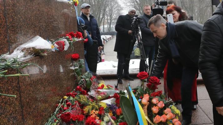 Справедливість – в наших очах, Шевченко – в наших серцях! — В. Наливайченко