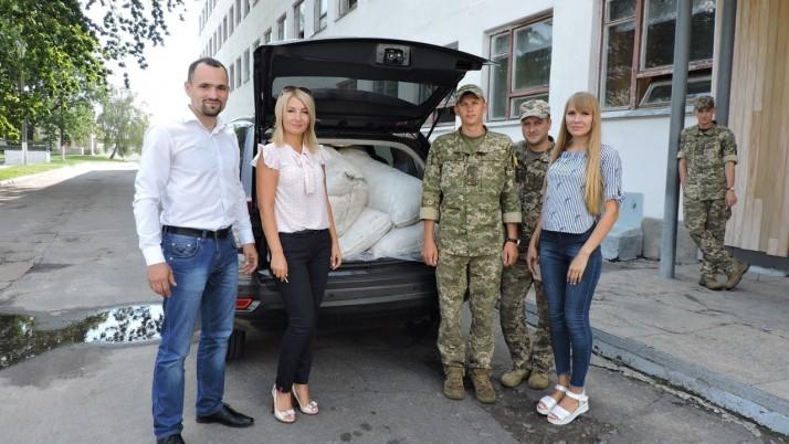 Рух «Справедливість» Чернігівщини допоміг першій танковій бригаді