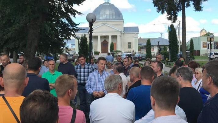 Рух «Справедливість» відвідав Житомирщину, Рівненщину та Волинь
