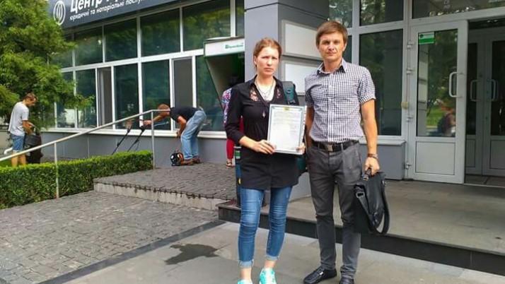 Юристи «Справедливості» в Чернігові допомагають жінці-парамедику отримати статус УБД