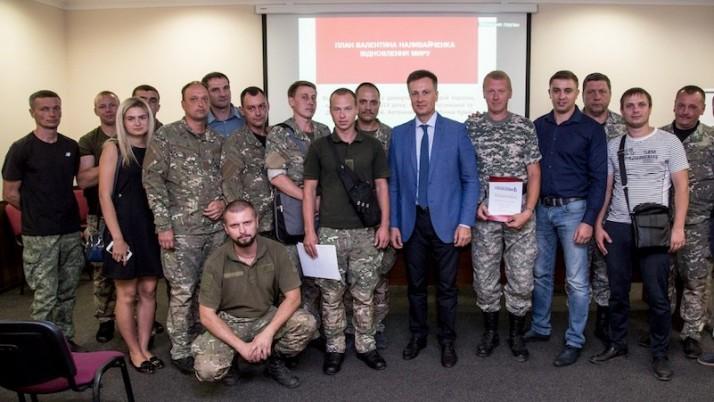 Валентин Наливайченко представив свій мирний план в Дніпрі