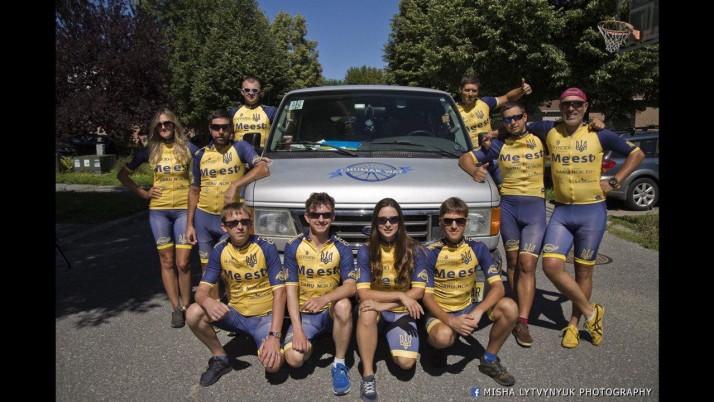 Представник «Справедливості» бере участь у велопробігу «Чумацький шлях в Америку»